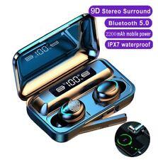 Bluetooth 5.0 TWS Kopfhörer Touch Control In-Ear Ohrhörer Wireless Headset DE