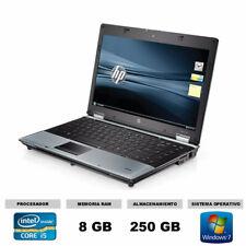 Ordenador portatil hp 8440p core i5 2,4ghz 8gb 250hd economico barato excelente