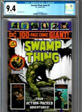 SWAMP THING GIANT #3 CGC 9.4 DC COMICS 2019 WALMART EXCLUSIVE WHITE PAGES