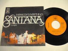 """SANTANA Everybody's Everything  SP 7"""""""