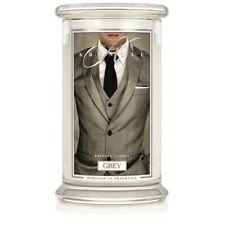 Kringle Candle Large Jar 22oz Grey