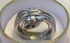 Vintage Crown Trifari Jewels of India Egyptian Revival Serpent Snake Ring