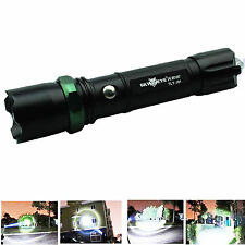 Compact Zoom 10000 Lumens 3 Modes CREE XML T6 LED 18650 Flashlight Torch Lamp ff