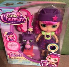 Nickelodeon Little Charmers HAZEL Magical Doll Talks 8 Phrases & Sounds New