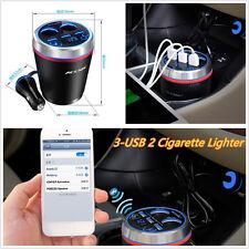 Auto Wireless Bluetooth Kit Freisprechanlage FM Transmitter Radio Player Voltage Display