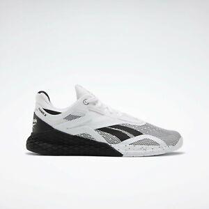 Reebok Nano X Black/White - Size 9 EH3094 Men's Shoes