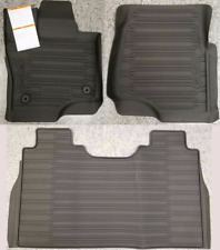 OE 15-20 Ford F-150 CONTOURED ALL WEATHER FLOOR LINER 3PC CREW CAB HL3Z1613300AA