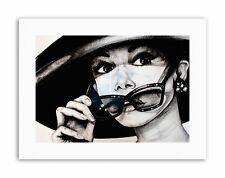 AUDREY HEPBURN MAGUIRE Picture Painting Canvas art Prints