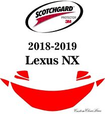 3M Scotchgard Paint Protection Film Clear Pre-Cut 2018 2019 Lexus NX