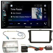 Pioneer AVH-A3100DAB USB MP3 Bluetooth Einbauset für Golf 5 6 Passat 3C CC B7 To