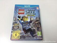 Lego City Undercover Limited Edition Nintendo WII U Video Juego UK release Menta