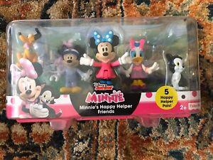 Disney - Junior Minnie Mouse Minnie's Happy Helper Friends - New!!