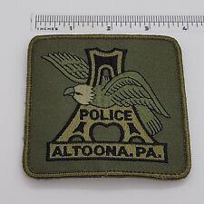 Altoona Pennsylvania Police Patch