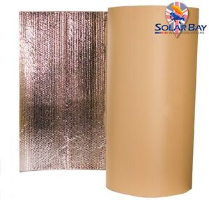 Thermal Acoustic Foil Bubble Insulations ALL SIZES Home Camper Van Loft Touring