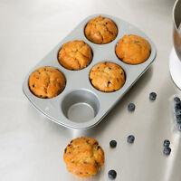 Wilton 2105-955 Recipe Right Non-Stick Jumbo Muffin Pan, 6-Cup
