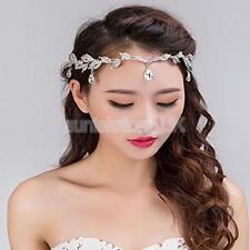 Sparkly Crystal Wedding Bridal Flower Girl Tiara Prom Bridesmade Hair Piece