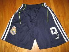 AC Milan boys SOCCER SHORTS size 6 Adidas  9 inzaghi weah van basten torres vtg