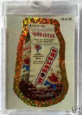 2010 TOPPS Wacky Packages ANS7 GOLD flash foil PROOF 1/1 worldwide THE ONLY ONE!