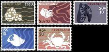NVPH 877-881 POSTFRIS ZOMERZEGELS SCHELPEN EN ZEEDIEREN CAT.WRD. 2,40 EURO