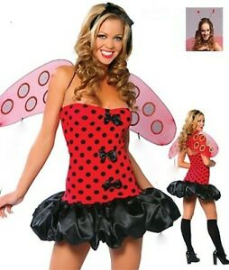 Ladybird  Bug inc Wings, G String & Antenna!! Insect Size 12-14