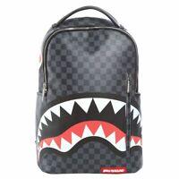 SPRAYGROUND ZAINO UNISEX stampa Grey Checkered Sharks in Paris 910B1374