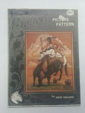 Craftool Leather Picture Pattern 6007 Horse Cowboy Gene Noland
