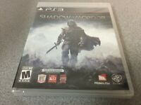 Middle-earth: Shadow of Mordor (Sony PlayStation 3, 2014) PS3 NEW