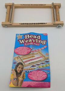Bead Weaving Loom Set Tool w/ Manual Beading Arts & Crafts Jewelry Maker