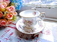 Royal Albert Lavanda Rose Tea Set-Platillo Taza De Té Porcelana