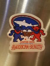 Dogfish Head American Beauty Grateful Dead magnet 3in