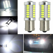 10x 1156 BA15S P21W 33SMD 5730 LED Bulb Side Signal Brake Stop Tail Light White
