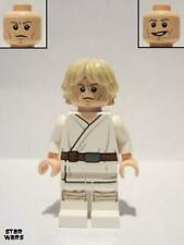 Lego figure luke skywalker (tatooine, white legs, detailed face print) - sw0551