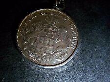 großer-trachten-5 Mark - Coin – Bürger- Jewellery 955-silber- Pendant
