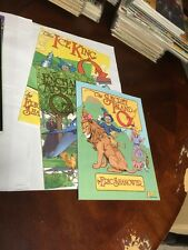 The Secret Island Of Oz Enchanted Apples And Ice King All Nm Graphic Novels 1St