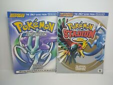 Pokemon Crystal & Stadium 2 Official Players Guide Strategy Nintendo Power Lot