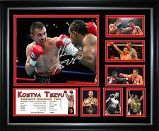 Kostya Tszyu Signed Framed Memorabilia