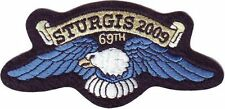 OFFICIAL STURGIS 2009 EAGLE WING PATCH 69TH ANNUAL*