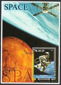 2002 NASA spaceman walk in the Space CTO  Souvenir sheet NH.XF