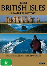 BBC's British Isles: A Natural History Region 4, 3 x DVDs, As New Free Postage