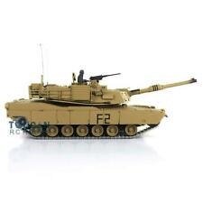 Henglong 1/16 6.0 Upgrade M1A2 Abrams Rc Tank 3918 360° Turret Barrel Recoil