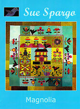 Magnolia - applique & embellishment quilt book - Sue Spargo