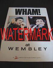 Wham At Wembley, A No.1 Souvenir Special - Magazine Article - (BBX020)
