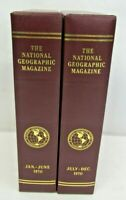 1970 National Geographic Magazine Set Complete W/ Slip Cover January - December