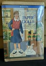 The American Girls Collection Molly's Paper Dolls and Bennett New Old Stock 1992