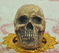 Ritual Skull Thai Amulet Talisman Holy mystic Voodoo Shaman Necromancer Spells