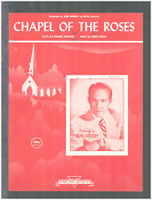 Chapel Of The Roses 1951 DON CHERRY Vintage Sheet Music