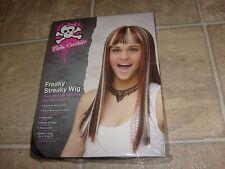 MONSTER HIGH  WIG FREAKY STREAKY TEEN KIDS Halloween Costume Accessory Wig NEW