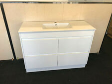 1200MM BATHROOM VANITY UNIT SOFT CLOSING DRAWER CERAMIC BASIN