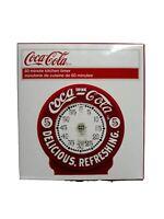 Red & White Coca-Cola Coke Kitchen 60 minute Timer NEW IN BOX