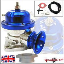 UNIVERSAL BLUE 40MM TYPE RS TURBO ADJUSTABLE BLOW OFF DUMP VALVE fits Greddy